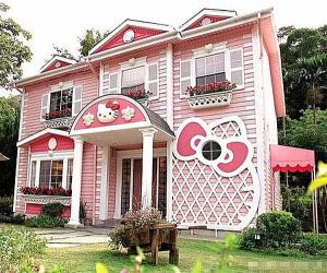 Hello Kitty mansion in shanghai